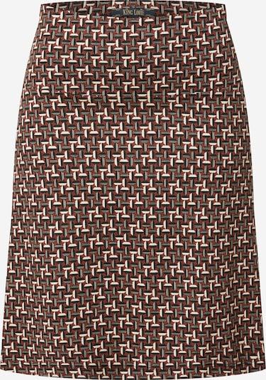 King Louie Spódnica 'Border Noshi' w kolorze czerwony / czarny / srebrnym, Podgląd produktu