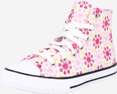 CONVERSE Sneaker 'CTAS HI' in gelb / pink / schwarz / weiß, Produktansicht