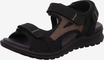 Legero Sandale in Schwarz