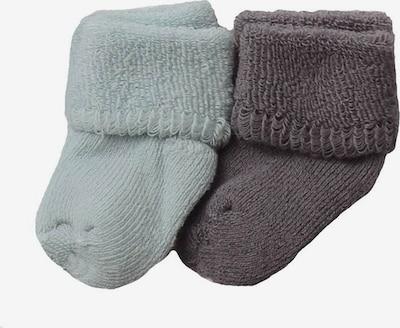 LILIPUT Calcetines en gris oscuro / menta, Vista del producto