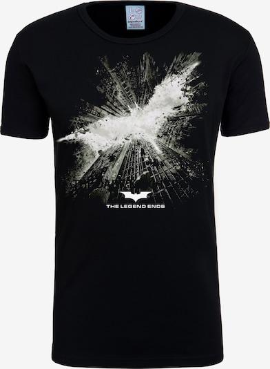 LOGOSHIRT T-Shirt 'Batman – The Dark Knight Rises' in schwarz, Produktansicht