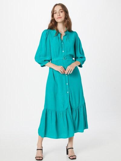 Closet London Kleid in türkis, Modelansicht