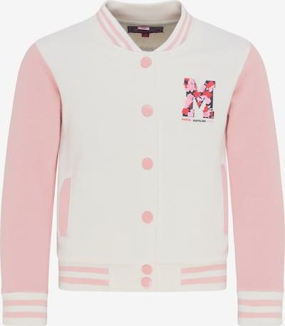 myMo KIDS Sweatvest in de kleur Wit, Productweergave