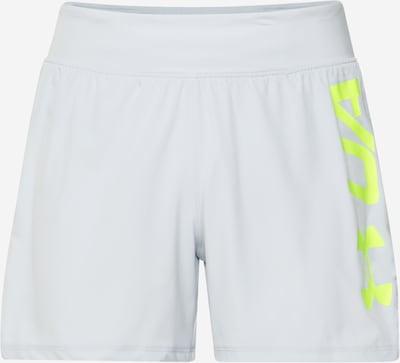 UNDER ARMOUR Športové nohavice - neónovo žltá / svetlosivá, Produkt