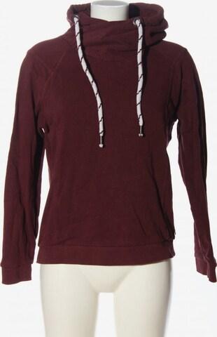 TOM TAILOR DENIM Sweatshirt & Zip-Up Hoodie in L in Red