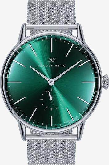 August Berg Uhr 'Serenity Silver Eye Silver 40mm' in grün / silber, Produktansicht