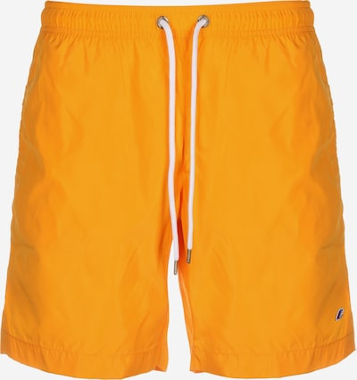 Champion Authentic Athletic Apparel Badeshorts in gelb / hellorange, Produktansicht