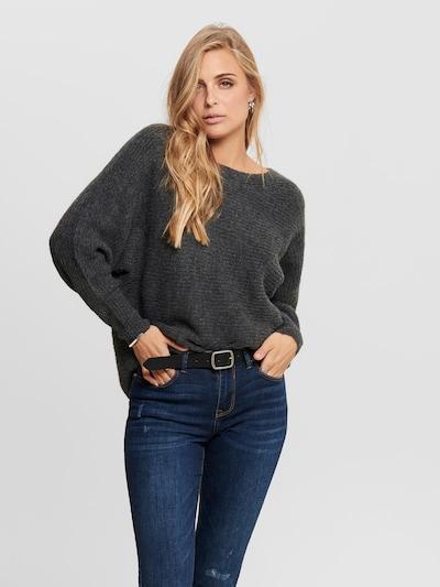 ONLY Pullover 'Daniella' in dunkelgrau, Modelansicht