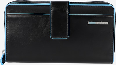 Piquadro Geldbörse in blau / schwarz, Produktansicht