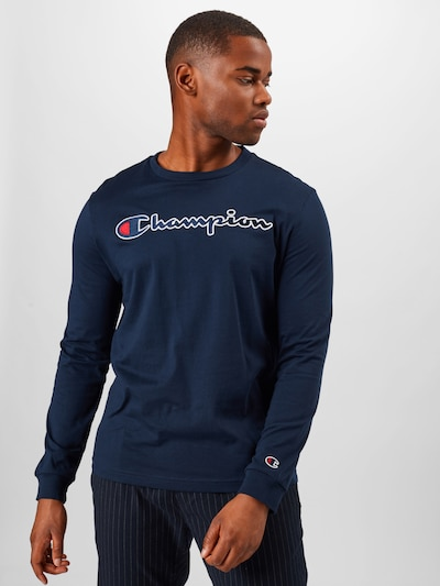 Marškinėliai iš Champion Authentic Athletic Apparel , spalva - tamsiai mėlyna / raudona / balta: Vaizdas iš priekio
