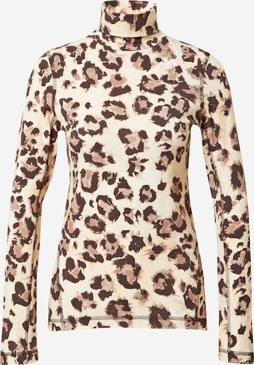 FRENCH CONNECTION Shirt 'MIYA' in braun / cappuccino / schwarz, Produktansicht