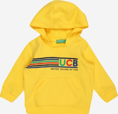 UNITED COLORS OF BENETTON Sweatshirt in gelb / mischfarben, Produktansicht
