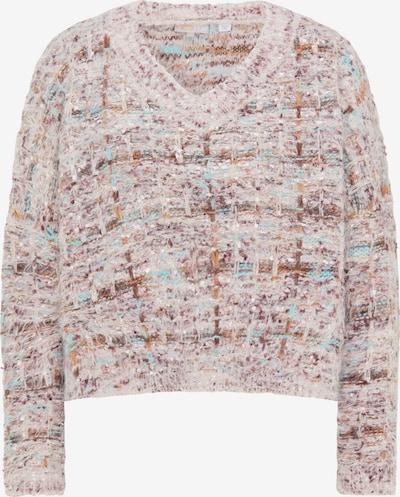 myMo NOW Pullover in braun / mischfarben, Produktansicht