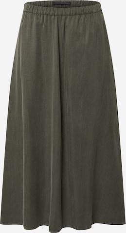 zaļš DRYKORN Svārki 'RILBY'