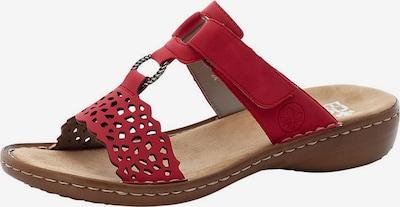 RIEKER Pantofle - ohnivá červená, Produkt