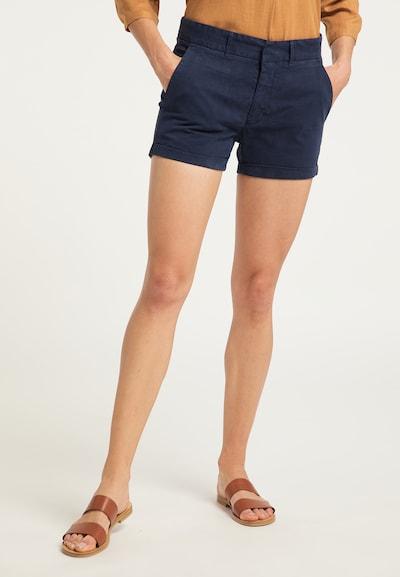 DreiMaster Vintage Shorts in marine, Modelansicht