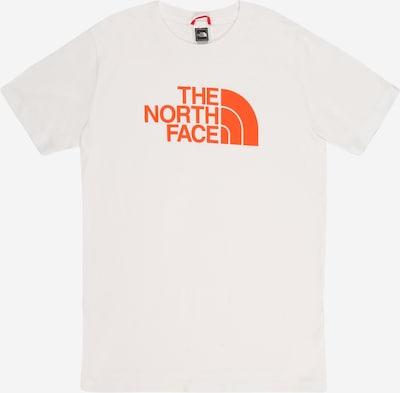 THE NORTH FACE Sportshirt in neonorange / weiß, Produktansicht
