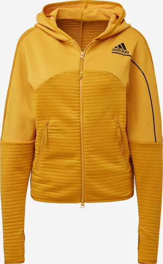 ADIDAS PERFORMANCE Sweatjacke 'Z.N.E. COLD.RDY' in senf, Produktansicht