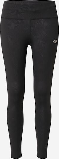 4F Pantalon de sport en gris argenté / noir, Vue avec produit