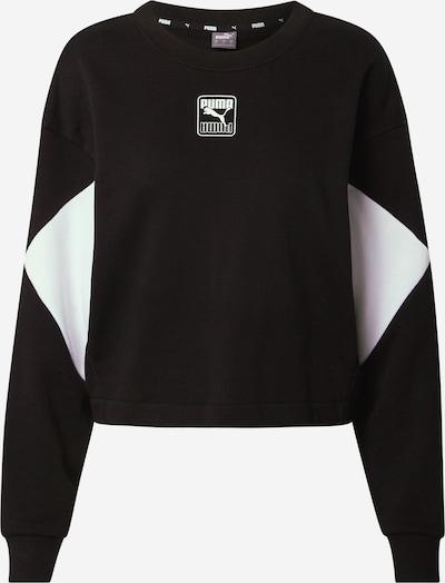 Felpa sportiva 'Rebel' PUMA di colore nero / bianco, Visualizzazione prodotti
