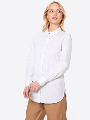 PULZ Jeans Pluus 'Elna', värv valge