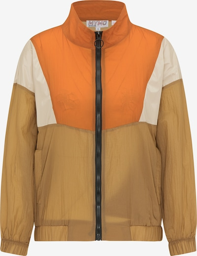 myMo ATHLSR Windbreaker in braun, Produktansicht