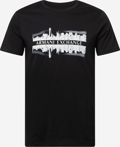 Marškinėliai iš ARMANI EXCHANGE, spalva – juoda / balta, Prekių apžvalga