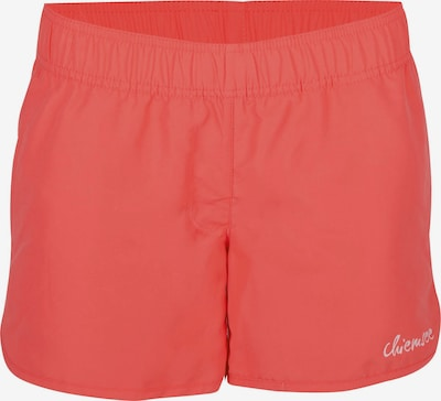 CHIEMSEE Board Shorts in Light grey / Cranberry, Item view