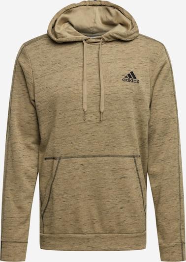 ADIDAS PERFORMANCE Urheilullinen collegepaita värissä khaki / tummanvihreä / musta, Tuotenäkymä