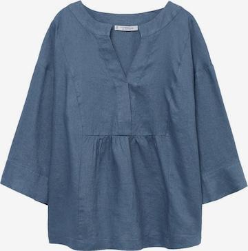 MANGO Bluse 'Basili 8' in Blau