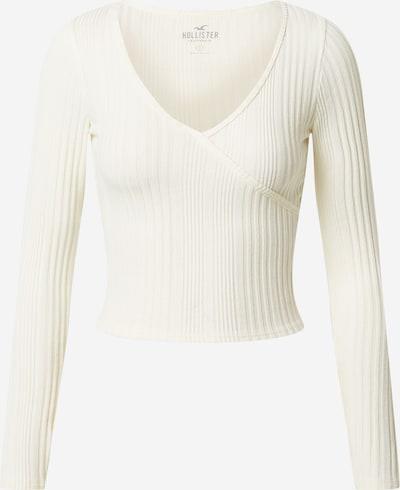 HOLLISTER Тениска в естествено бяло, Преглед на продукта