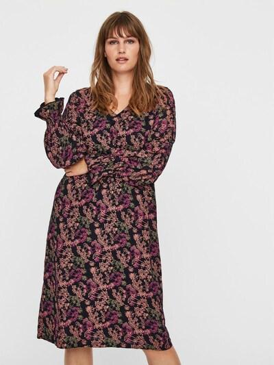 Junarose Kleid in blau / lila / pink, Modelansicht