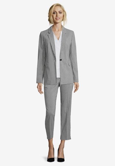 Betty & Co Longblazer mit Taschen in schwarz / weiß, Modelansicht