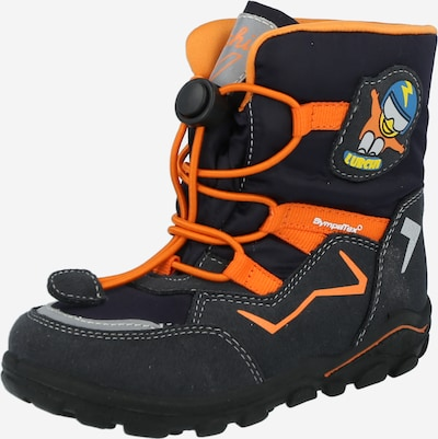 LURCHI Boot 'KERO-SYMPATEX' in Night blue / Orange, Item view