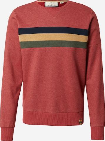 Fli Papigu Sweatshirt 'Gaat de Bak' in Rot