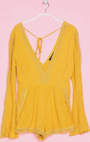 Forever 21 Jumpsuit in S in Yellow