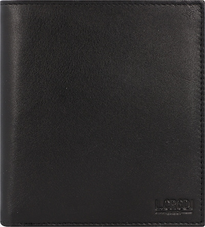L.CREDI Portemonnaie 'Edward' in schwarz, Produktansicht
