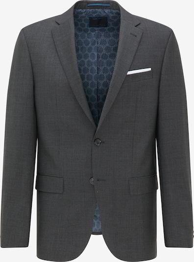 PIERRE CARDIN Business-colbert 'Grant' in de kleur Donkergrijs / Wit, Productweergave