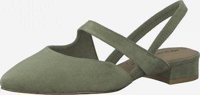 TAMARIS Slingpumps in khaki, Produktansicht
