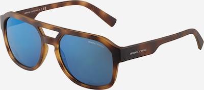 Akiniai nuo saulės '0AX4074S' iš ARMANI EXCHANGE, spalva – mėlyna / ruda / šviesiai ruda, Prekių apžvalga