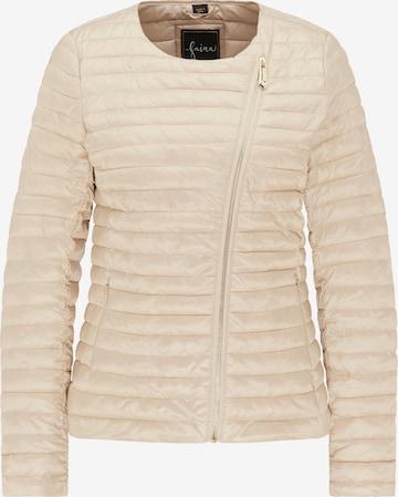 faina Between-Season Jacket in Beige