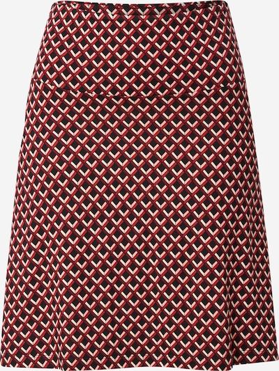 Fustă King Louie pe roșu / roșu burgundy / negru / alb, Vizualizare produs