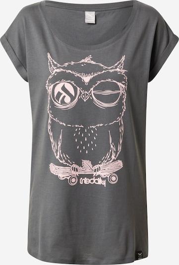Iriedaily T-Shirt in grau / altrosa, Produktansicht