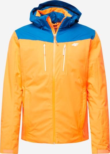 4F Sportjas in de kleur Blauw / Geel, Productweergave
