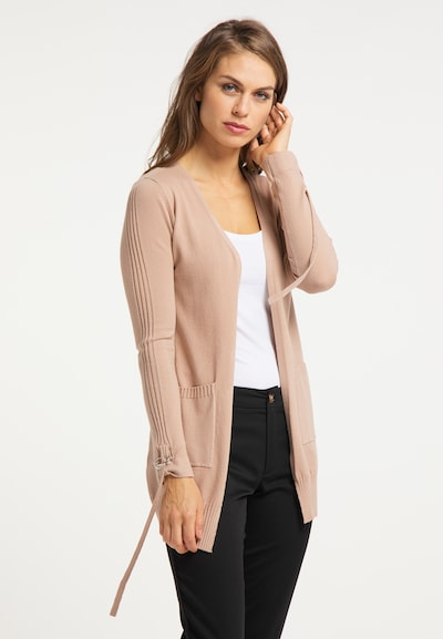 usha BLACK LABEL Cardigan in altrosa, Modelansicht