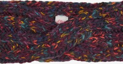 s.Oliver Stirnband in dunkelblau / mischfarben / rot, Produktansicht