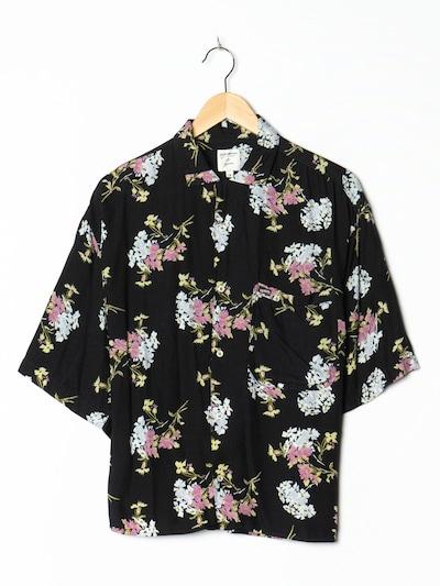 GUESS Blumenbluse in M-L in schwarz, Produktansicht