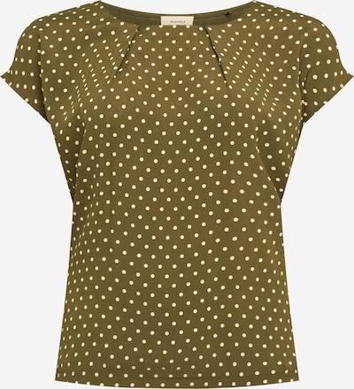 TRIANGLE Majica u kaki / bijela, Pregled proizvoda