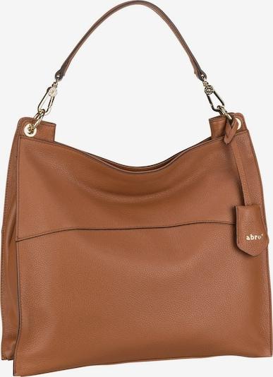 ABRO Handtasche 'Nora' in braun, Produktansicht