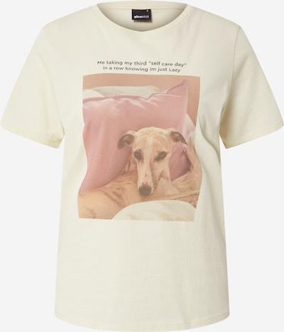 Marškinėliai 'Ida' iš Gina Tricot, spalva – natūrali balta, Prekių apžvalga